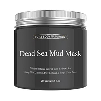 Pure Body Naturals Dead Sea Mud Mask, 8.8-ounce