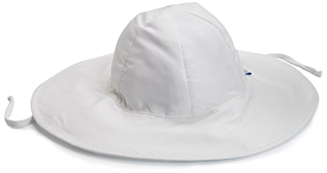 i play. Baby Brim Sun Protection Hat, White, 9-18 Months