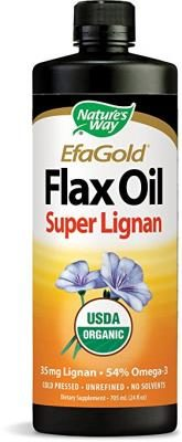 Nature's Way Flax Oil Super Lignan, 24 Ounce